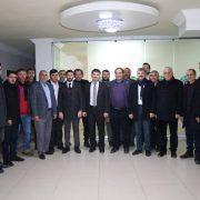 Ak Parti Heyeti Aksaray Ziraat Odasını ziyaret etti