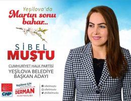 CHP Yeşilova Belediye Başkan Adayı Sibel MUŞTU