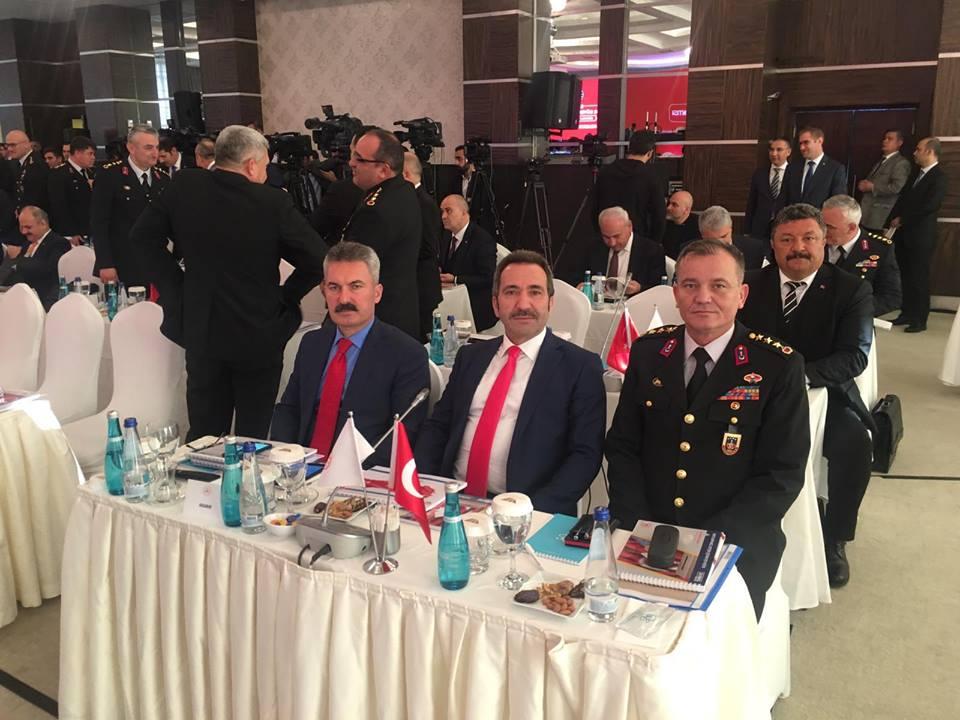 18 İl Valisinin katıldığı Seçim Bölge Güvenlik Toplantısı yapıldı