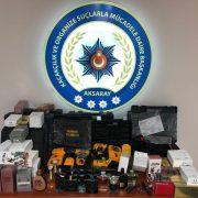 Aksaray Polisi Kaçakçılara şok operasyon düzenledi