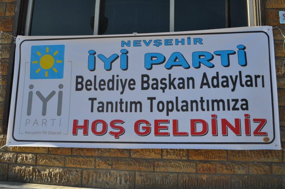 İYİ Parti Nevşehir de Başkan Adaylarını Tanıttı