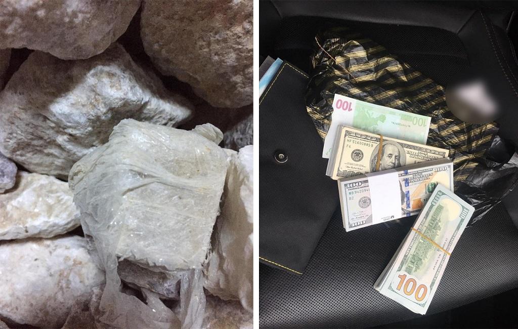 Cumhuriyet tarihi rekoru 1 ton 535 kg eroin maddesi yakalandı