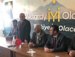Halil Demir İyi Partiden Ortaköy Belediye Başkan adayı oldu