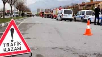 Trafik Kazası 1 Ağır 5 Yaralı