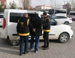 Aksaray polisi 10 yıl hapis cezası olan şahısı operasyon ile yakaladı