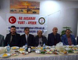 68 yurt Ayder derneği 2. Yılında üyeleriyle kahvaltıda buluştu