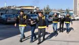 Aksaray'da elektronik eşya çalan hırsızlar yakalandı
