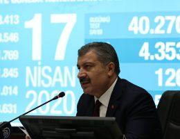 Bakan Fahrettin Koca, Bilim Kurulu Toplantısının Ardından Açıklama Yaptı