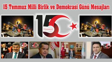 15 Temmuz Milli Birlik ve Demokrasi Günü Mesajları