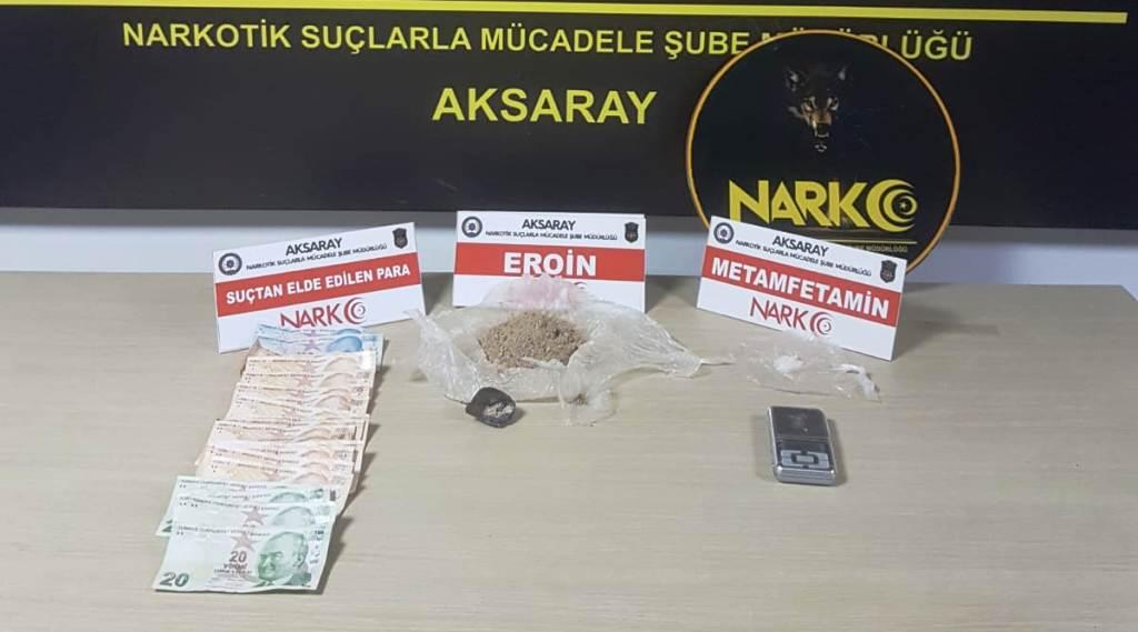 Aksaray Polisi uyuşturucu operasyonları düzenledi