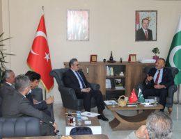 Pakistan Büyükelçisi SANKON Konya il Başkanlığını ziyaret etti