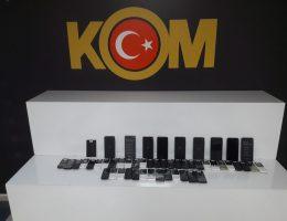 Kaçak cep telefonu satanlara polis operasyonu 4 gözaltı