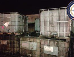 Aksaray'da10ton 860 kg kaçak yağ ele geçirildi 5 şüpheli göz altında