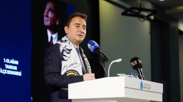 Babacan Tarsus'tan Hükümete Yüklendi