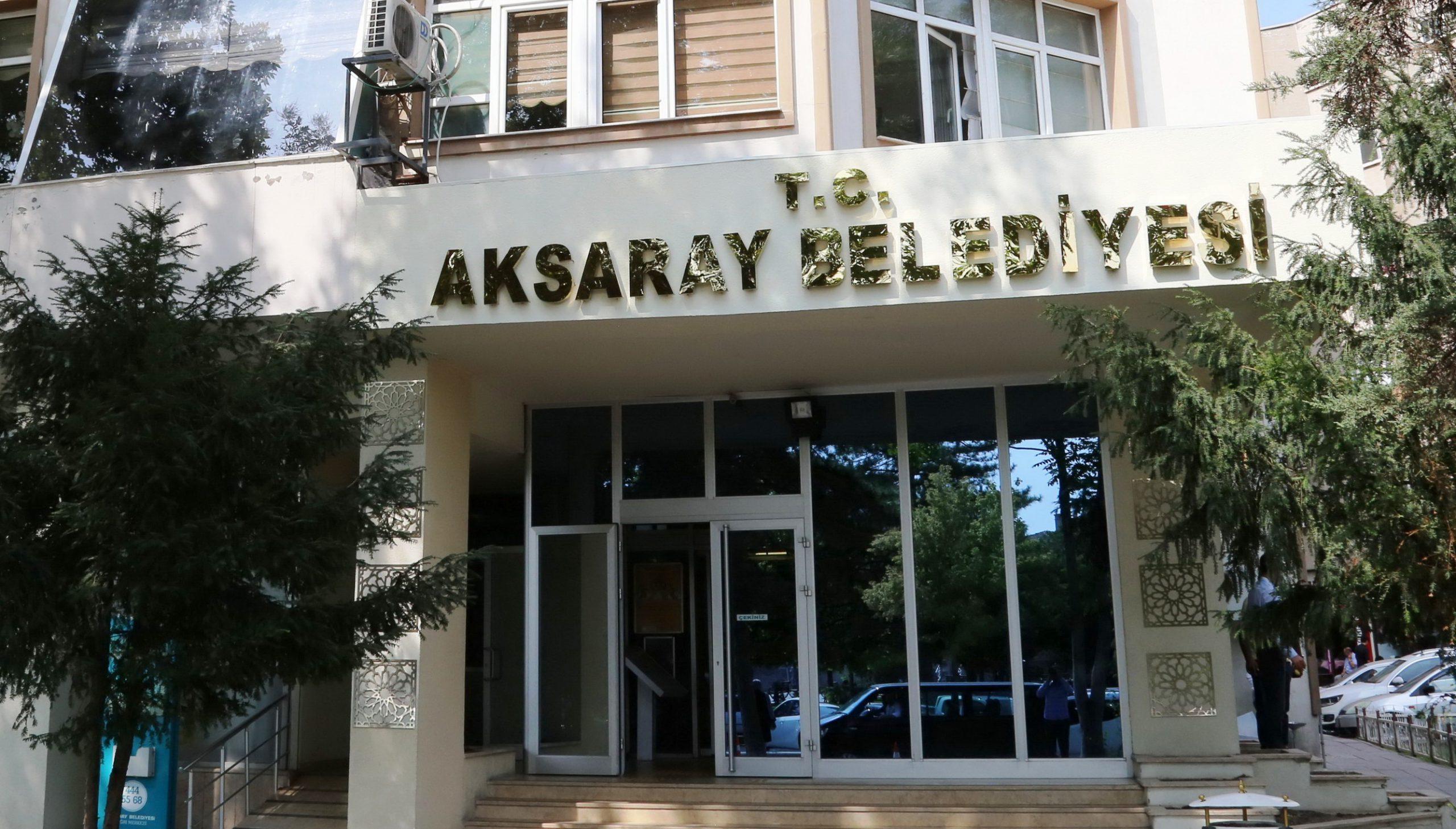 Aksaray Belediye Hizmet Binası taşınıyor