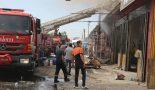 Aksaray sanayi sitesinde meydana gelen yangın 3 saatte söndürüldü