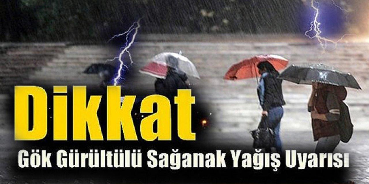 AFAD ve Metrolojiden 6 ile şiddetli yağmur uyarısı