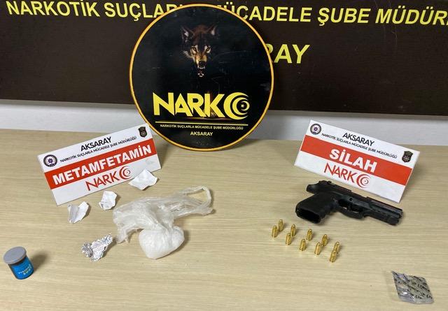 Aksaray'da uyuşturucu satıcısı 2 kişi tutuklandı
