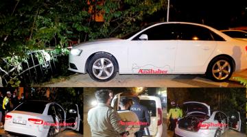 Polis Kovalamacısı Kaza ile bitti
