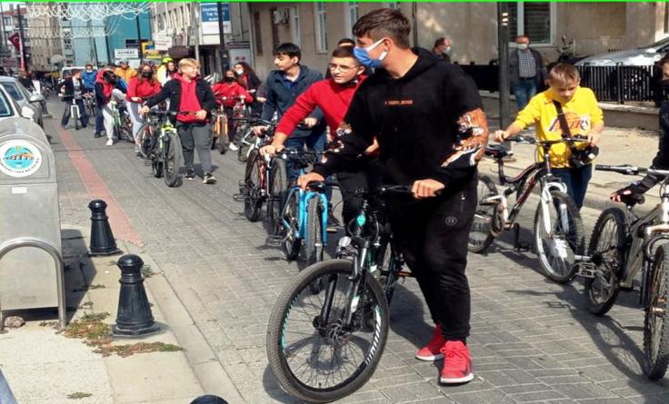 Bisiklet Halk Turu yapıldı